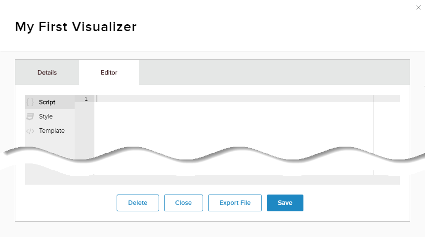 Content > Visualizers tab > Editor > Style
