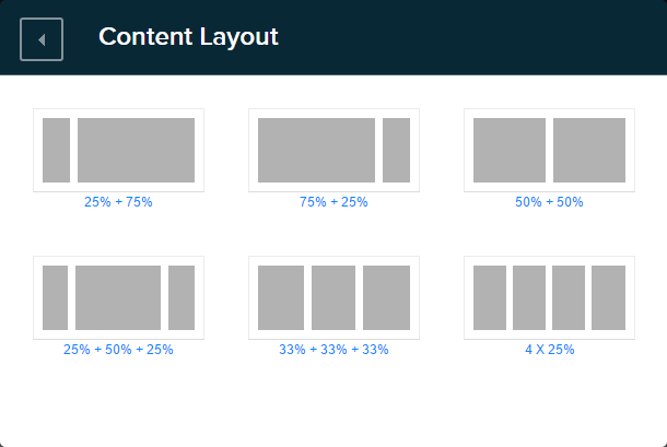 Content Layout module