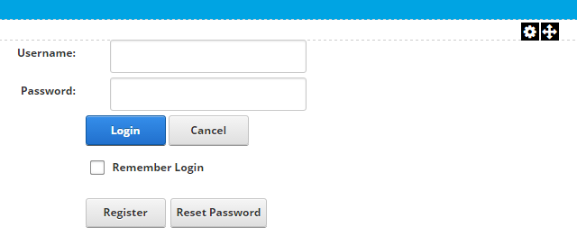Account Login module