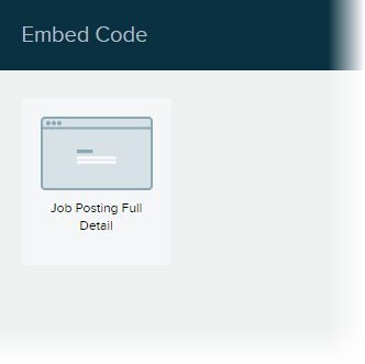 Content tab > Share > Embed Code > Choose Visualizer